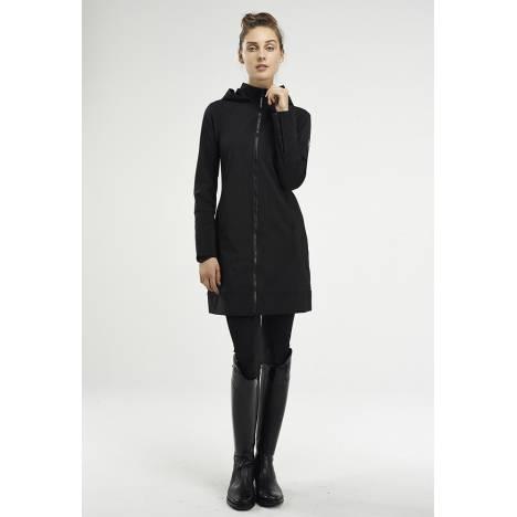 Asmar Ladies All Weather Rider Coat- Black