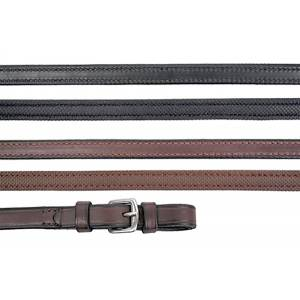 Nunn Finer Rubber Lined Reins With Hand Stops
