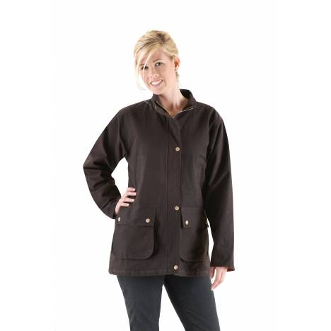 Turn-Two Equine Oilskin Quilted Ladies Jacket