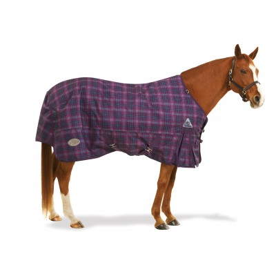 Centaur 1200D Turnout Blanket - Medium Weight (150g), Plaid