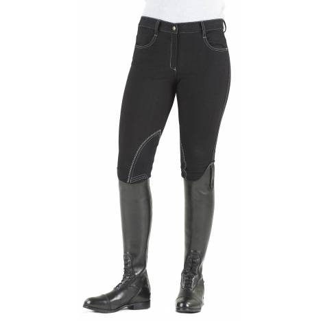 Ovation Euro Jean Breeches - Ladies, Knee Patch