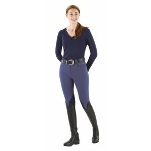 Ovation Milano EuroSeat Breeches - Ladies, Knee Patch