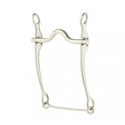 Turn-Two Stainless Steel Low Port Stock Horse Bit
