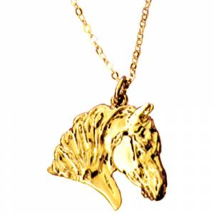Beverly Zimmer Draft Horse Head Pendant