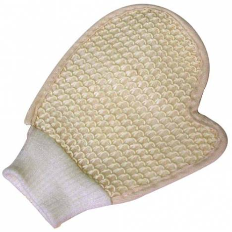 Intrepid Sisal Grooming Mitt With Cuff