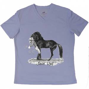 Intrepid Join Up! V-Neck Tee Shirt - Ladies