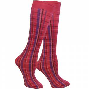 WOW Highland Plaid Knee Socks