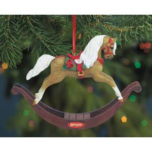 Breyer Eggnog Rocking Horse 2014 Holiday Ornament