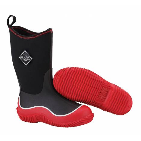 Muck Boots Kids Hale - Red Black