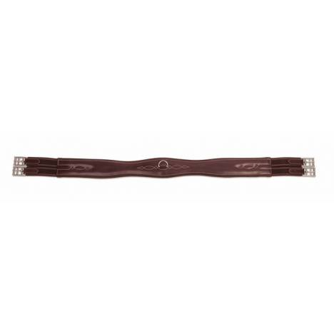 Shires Equestrian Leather Overlay Girth