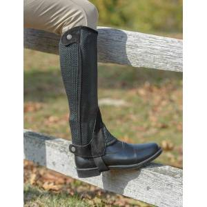 Shires Mesh Half Chaps - Adult