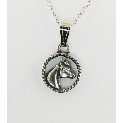 Finishing Touch Arabian Horse Head Necklace