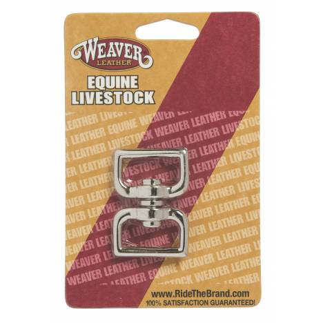 Weaver Leather Nickel Plated Square Eye Swivel