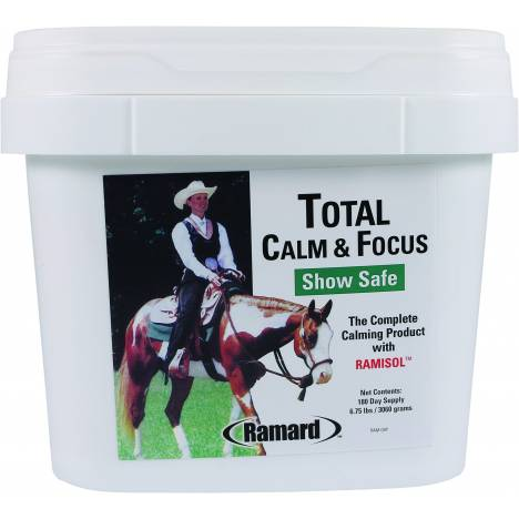 Total Calm & Focus Show Safe Supplement