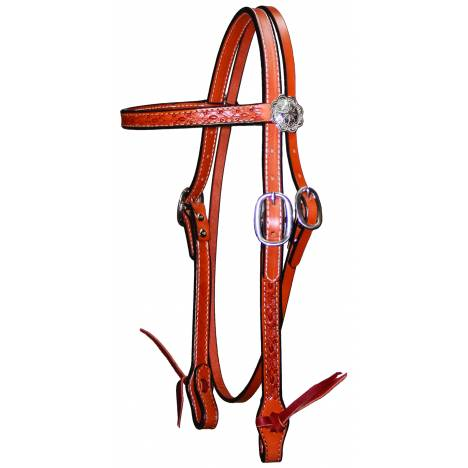Circle Y Hand Tooled Browband Headstall