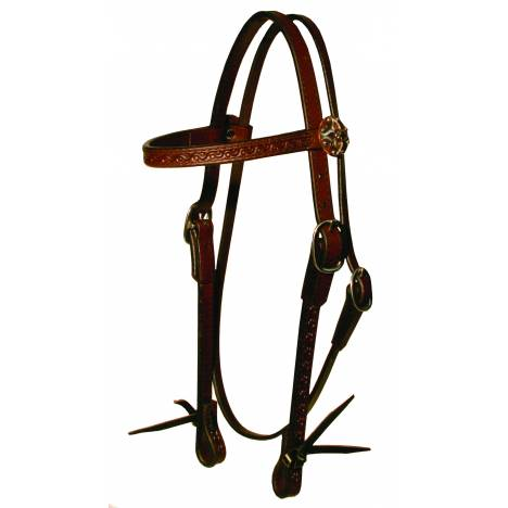Circle Y Border Tool Browband Headstall
