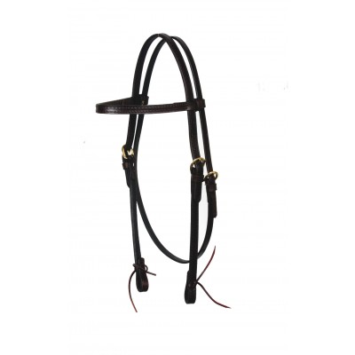 Circle Y Browband Tie Ends Headstall