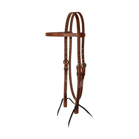Circle Y Harness Leather Browband Headstall