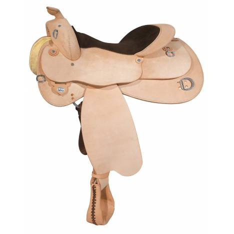 Circle Y Roughout Trainer With Training Dees Saddle