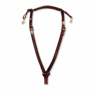 Circle Y Over Neck Trail Breast Collar - Cob