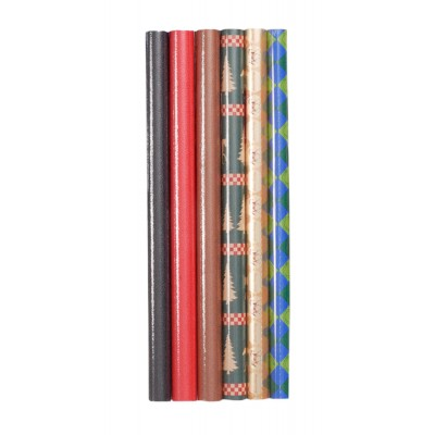 Gift Corral Wrapping Paper Assortment - 6 Pack