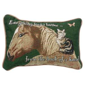 Gift Corral Everything Looks Better Throw Pillow