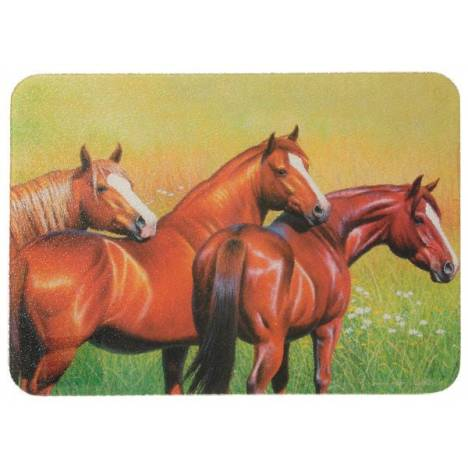 Gift Corral Three Horses Cutting Board