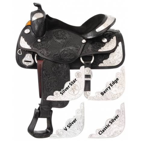 Silver Royal Youth Challenger V Silver Trim Saddle Package