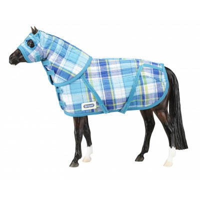 Breyer Traditional Series Quilted Blanket And Hood Set