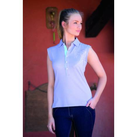 Horseware Flamboro Sleeveless Polo - Ladies