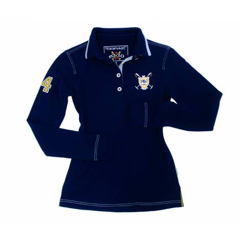 Horseware Polo Cheri Rugby Shirt - Ladies