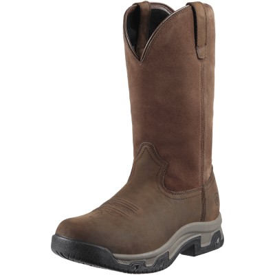 Ariat Terrain Pull-On H2O Boot - Mens, Distressed Brown