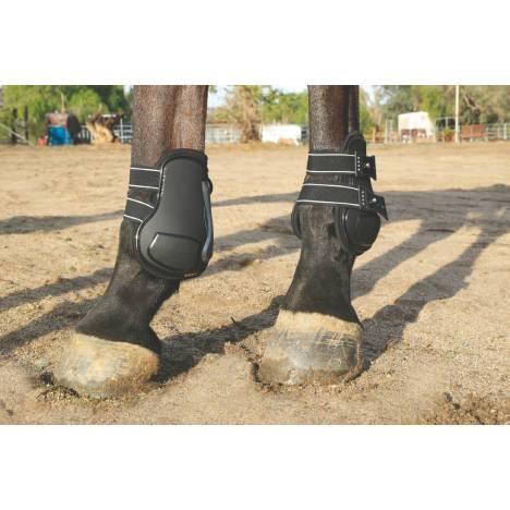Professionals Choice Pro Performance Show Boots - Rear, TPU Fasteners