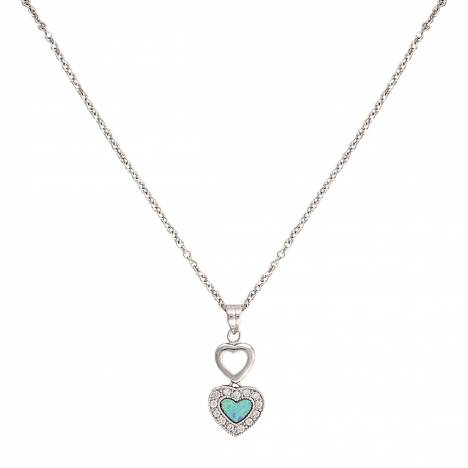Montana Silversmiths River Lights In Love Necklace