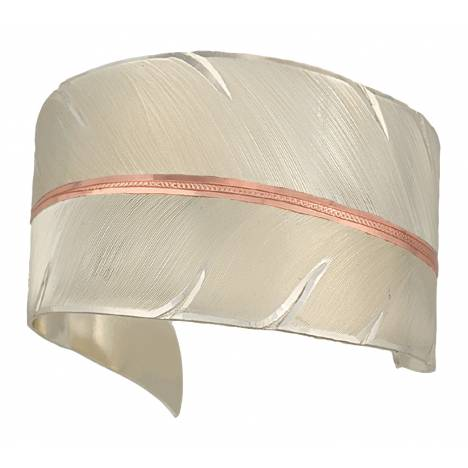 Montana Silversmiths To Fly With Strength And Grace Feather Cuff Bracelet