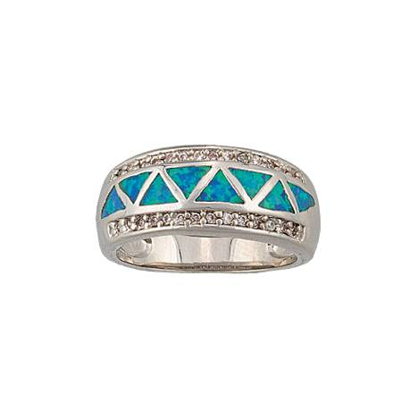 Montana Silversmiths Trickle Creek Band Ring