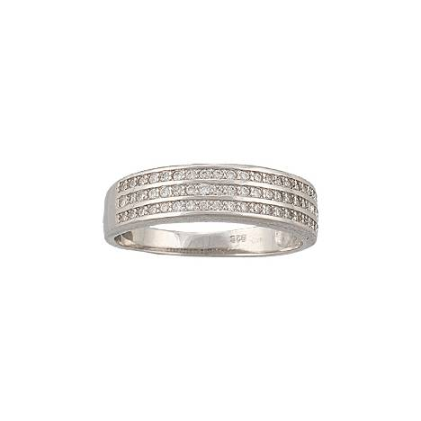 Montana Silversmiths Three Perfect Rows Band Ring