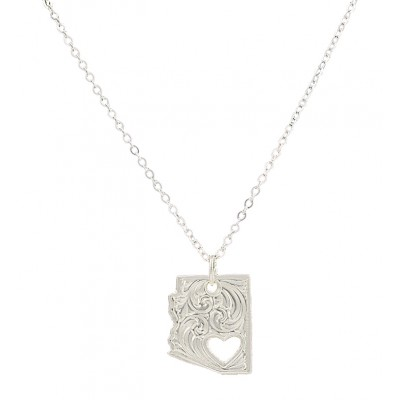 Montana Silversmiths I Heart Arizona Necklace