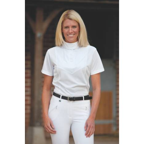 Shires Show Shirt - Ladies, Short Sleeve