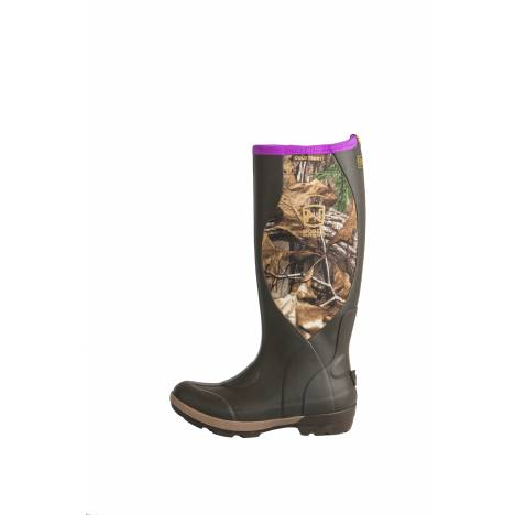 Noble Outfitters Ladies MUDS Cold Front Camo High Boots