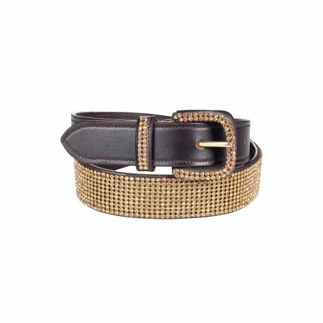 Horze Ladies Crescendo Wide Crystal Belt