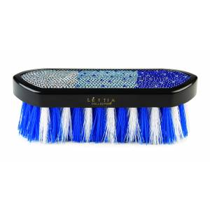 Lettia Blue Crystal Dandy Brush
