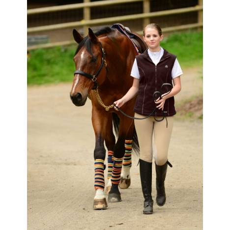 EOUS Ladies Daphne Fleece Vest