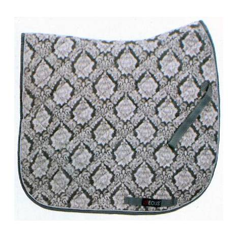 EOUS Patterned Fleece Saddle Pad - All Purpose