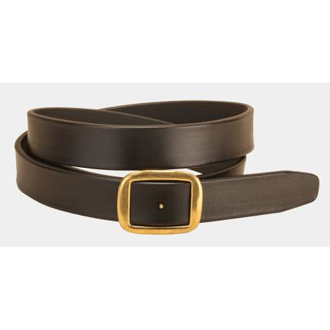 Tory Leather Square Conway Buckle Belt