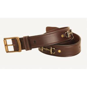 Tory Leather Snaffle Bit Leather Belt