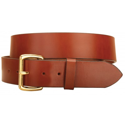 Tory Leather Strap  Belt with roller buckle