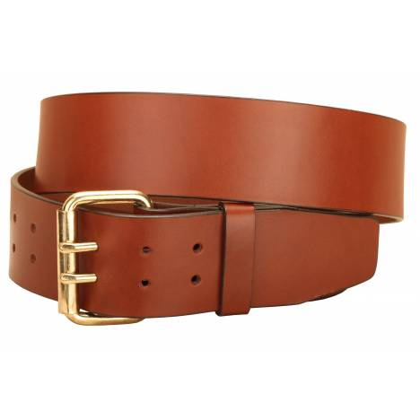 Tory Leather Double Holes/ Double Tongue Buckle Belt