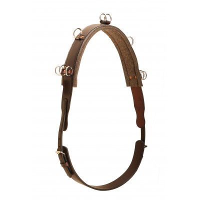 Tory Leather English Bridle Leather Surcingle