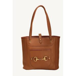 Tory Leather Carry All Bag With Bits